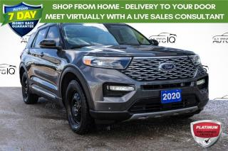 Used 2020 Ford Explorer Platinum AWD LEATHER INTERIOR | WINTER TIRE PACKAGE INCLUDED for sale in Innisfil, ON