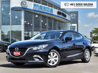 Used 2016 Mazda MAZDA3 LOW MILEAGE| NO ACCIDENTS| FINANCE AVAILABLE for sale in Mississauga, ON