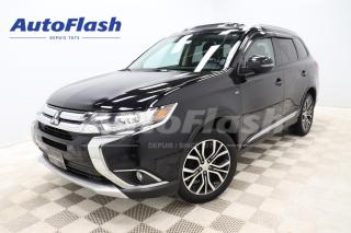 Used 2017 Mitsubishi Outlander SE V6 AWC *7-PASS *TOITROOF *CARPLAY for sale in Saint-Hubert, QC
