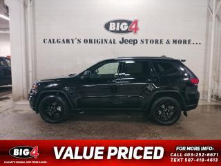 Used 2018 Jeep Grand Cherokee Laredo for sale in Calgary, AB