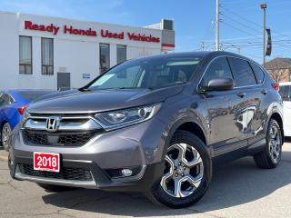 Used 2018 Honda CR-V EX-L - Leather - Sunroof - Rear Camera for sale in Mississauga, ON
