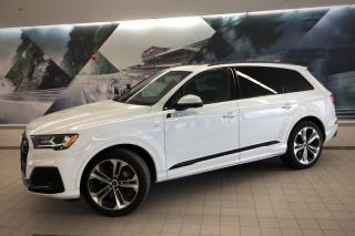 Used 2020 Audi Q7 55 TFSI Progressiv + Bose | Black Optics | Nav for sale in Whitby, ON