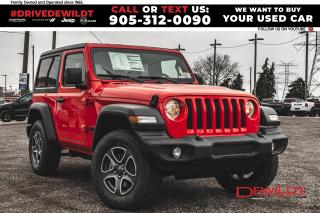New 2021 Jeep Wrangler Sport S | Tech Grp | Cold Weather | for sale in Hamilton, ON