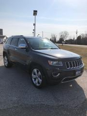 Used 2014 Jeep Grand Cherokee Limited LOCAL TRADE IN for sale in Petrolia, ON