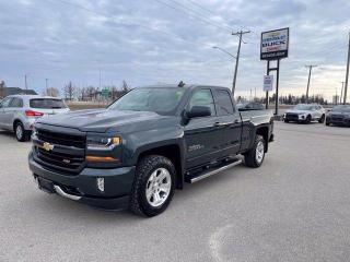 Used 2017 Chevrolet Silverado 1500 LT Dbl Cab Z71 4WD for sale in Beausejour, MB