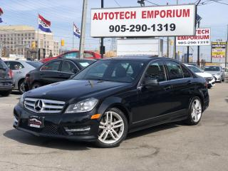Used 2013 Mercedes-Benz C-Class C300 4MATIC AWD Navigation/Sunroof/Camera for sale in Mississauga, ON