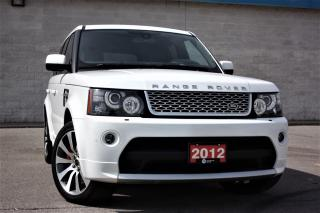 Used 2012 Land Rover Range Rover Sport Autobiography 510hp Dynamic-Extended Warranty! for sale in Toronto, ON