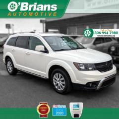 Used 2016 Dodge Journey Crossroad - Accident Free! w/AWD, Command Start, Leather, Third- for sale in Saskatoon, SK