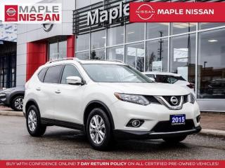 Used 2015 Nissan Rogue SV Backup Cam Pano Moonroof Heated Seats Bluetooth for sale in Maple, ON