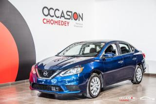 Used 2019 Nissan Sentra SV+SIEGES CHAUFFANTS+APPLE CARPLAY+CAMERA DE RECUL for sale in Laval, QC