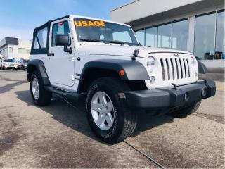 Used 2018 Jeep Wrangler Sport 4x4,manuelle for sale in Lévis, QC