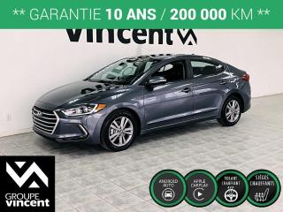 Used 2018 Hyundai Elantra GL ** GARANTIE 10 ANS ** Excellent rapport prix/équipement! for sale in Shawinigan, QC