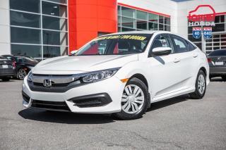 Used 2017 Honda Civic GARANTIE LALLIER 10ANS/200,000 KILOMETRES INCLUSE* PLUS DE 75 CIVIC USAGEES PRETES POUR LIVRAISON RAPIDE for sale in Terrebonne, QC