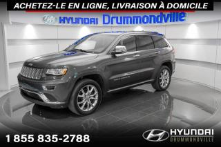 Used 2016 Jeep Grand Cherokee SUMMIT + GARANTIE + NAVI + TOIT PANO + for sale in Drummondville, QC