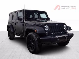 Used 2017 Jeep Wrangler UNLIMITED BIG BEAR 4X4 MAGS NAV for sale in St-Hubert, QC