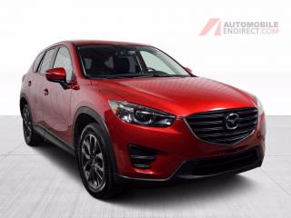 Used 2016 Mazda CX-5 GT AWD A/C Mags Cuir Toit GPS Sièges Chauffants for sale in St-Hubert, QC