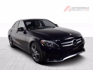 Used 2016 Mercedes-Benz C-Class C300 AMG Pack 4Matic Cuir Toit Pano GPS Caméra for sale in St-Hubert, QC