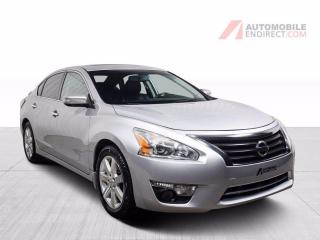 Used 2014 Nissan Altima SL V6 A/C Mags Cuir Toit GPS Sièges Chauffants for sale in St-Hubert, QC