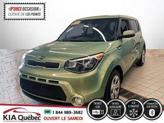 Used 2015 Kia Soul ** LX * AC * BLUETOOTH * 34645 KM * for sale in Québec, QC