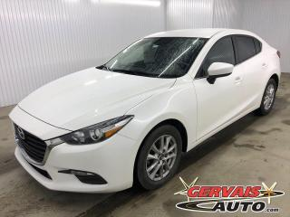 Used 2017 Mazda MAZDA3 SE GPS CUIR MAGS CAMÉRA AILERON *Bas Kilométrage* for sale in Shawinigan, QC