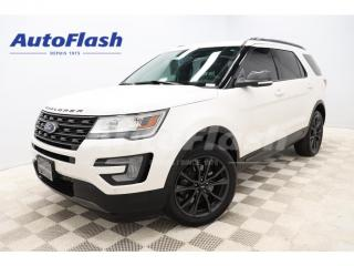 Used 2017 Ford Explorer XLT-SPORT *CUIR/LEATHER *GPS/CAMERA *TOIT/ROOF for sale in St-Hubert, QC