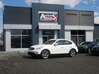 Used 2014 Infiniti QX50 AWD + TOIT + CUIR + INSPECTÉ + FREINS NEUFS for sale in Sherbrooke, QC