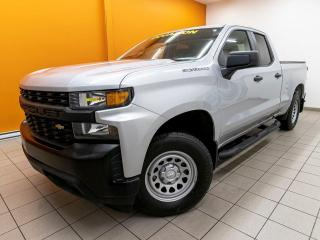Used 2019 Chevrolet Silverado 1500 WT 4X4 ANDROID / APPLE CAMÉRA *GR. REMORQUAGE* for sale in St-Jérôme, QC