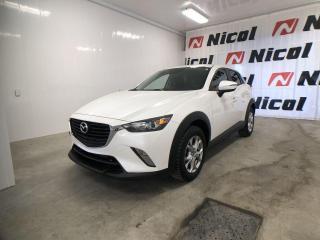 Used 2018 Mazda CX-3 GS Volant et sièges avant chauffants! for sale in La Sarre, QC