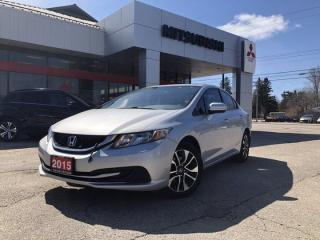 Used 2015 Honda Civic Sedan EX for sale in North Bay, ON