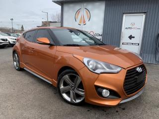 Used 2014 Hyundai Veloster ***AUTOMATIQUE,CUIR,TOIT,NAV,TURBO*** for sale in Longueuil, QC