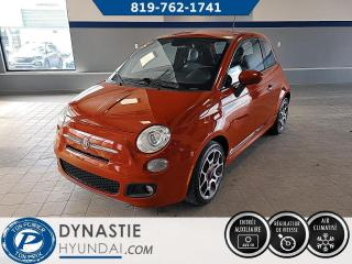 Used 2015 Fiat 500 Sport (Frais vip 495$ non inclus) for sale in Rouyn-Noranda, QC
