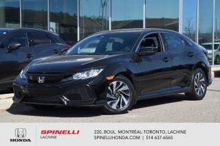 Used 2018 Honda Civic LX AUTO BAS KM HONDA SENSING AUTO MAGS BLUETOOTH APPLE CARPLAY++ for sale in Lachine, QC