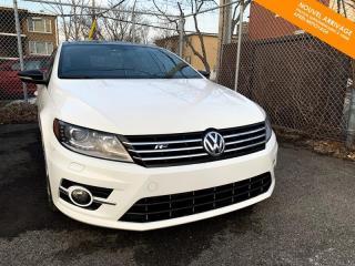 Used 2017 Volkswagen Passat CC RÉSERVÉ R-Line Wolfsburg  4Motion + GPS + Keyless for sale in Québec, QC