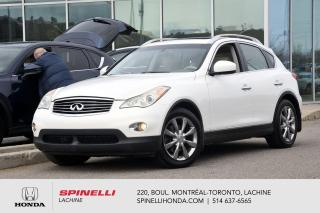 Used 2011 Infiniti EX35 LUXURY AWD CUIR TOIT BAS KM 8 PNEUS AWD CUIR TOIT CAM RECUL++ for sale in Lachine, QC