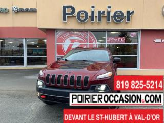 Used 2018 Jeep Cherokee Trailhawk TOIT PANORAMIQUE for sale in Val-D'or, QC