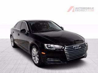Used 2017 Audi A4 KOMFORT QUATTRO MANUELLE CUIR TOIT MAGS for sale in Île-Perrot, QC