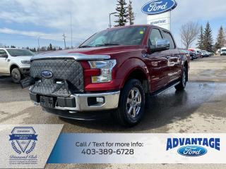 Used 2016 Ford F-150 Lariat LOADED - TOW PACKAGE - OFF ROAD - LEATHER INT - SEE MORE for sale in Calgary, AB
