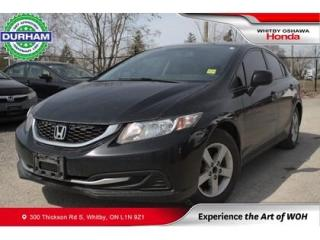 Used 2013 Honda Civic 4dr Man EX | Heated Front Seats | Keyless Entry for sale in Whitby, ON