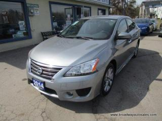 Used 2014 Nissan Sentra POWER EQUIPPED SR EDITION 5 PASSENGER 1.8L - SFI ENGINE.. ECO-MODE-PACKAGE.. SPORT-MODE-PACKAGE.. CD/AUX INPUT.. KEYLESS ENTRY.. for sale in Bradford, ON