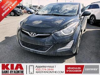 Used 2014 Hyundai Elantra GLS * TOIT OUVRANT / SIÈGES CHAUFFANTS for sale in St-Hyacinthe, QC