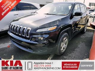 Used 2016 Jeep Cherokee SPORT 4X4 ** CAMÉRA DE RECUL for sale in St-Hyacinthe, QC