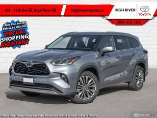 New 2021 Toyota Highlander Platinum  - Head-Up Display for sale in High River, AB