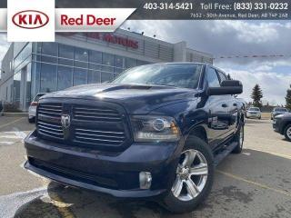 Used 2015 RAM 1500 SPORT for sale in Red Deer, AB