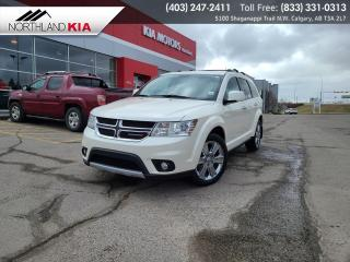 Used 2015 Dodge Journey R/T 7-PASSENGER, DVD PLAYER, HEATED SEATS, BACKUP CAMERA for sale in Calgary, AB