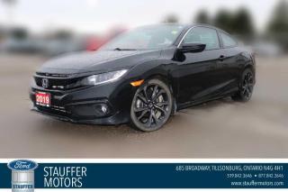 Used 2019 Honda Civic COUPE SPORT for sale in Tillsonburg, ON