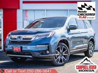 New 2021 Honda Pilot Touring - 7 Passenger  - Cooled Seats for sale in Campbell River, BC