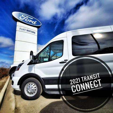 2021 Ford Transit Connect XLT Cargo  - $287 B/W