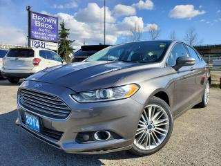 Used 2014 Ford Fusion SE, LOCAL, LEATHER, NAVIGATION, MOONROOF for sale in Surrey, BC