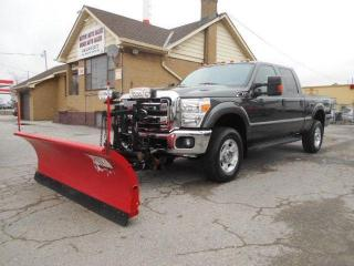 Used 2016 Ford F-250 XLT 6.2L 4X4 Crew Cab 8Ft Western Plow ONLY 82K for sale in Rexdale, ON