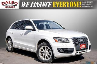 Used 2012 Audi Q5 NAV / LEATHER /HEATED SEATS / PANO ROOF / for sale in Hamilton, ON